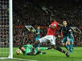 Les compos probables du match de Premier League entre Man. United et Southampton. AFP