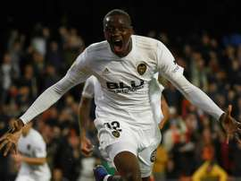 Le défenseur français de Valence Mouctar Diakhaby. Goal