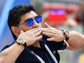 L'Argentine et le foot perdent leur Dieu Maradona, mort à 60 ans. AFP