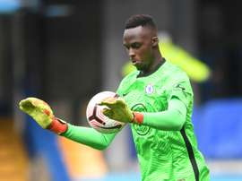 Edouard Mendy veut servir d'exemple pour les gardiens africains. AFP