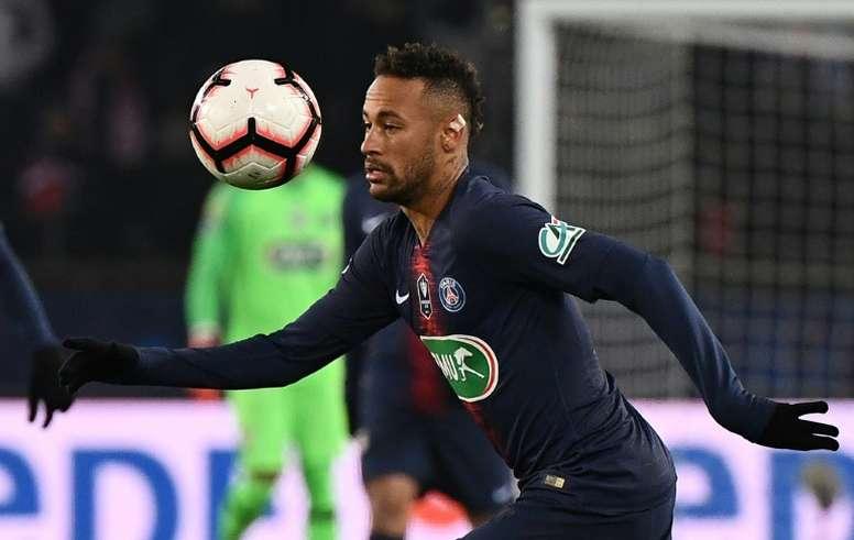 Neymar, el favorito de Mijatovic. AFP