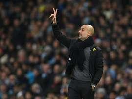 Guardiola valora un posible fichaje para verano. AFP