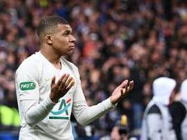 Bouanga ha criticato l'atteggiamento di Mbappé. AFP