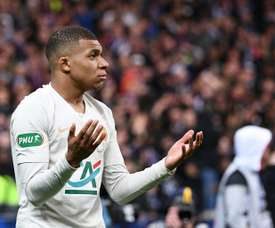 Mbappé's attitude is coming into question. AFP