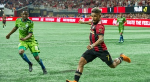 Josef Martinez has had a career resurgence since arriving at the MLS. AFP