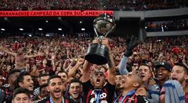 Se sorteó la Copa Sudamericana 2019. AFP
