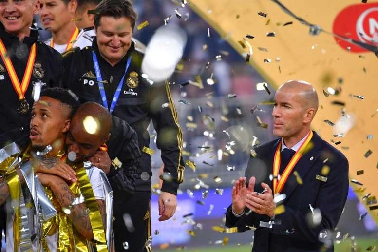 Zidane, l'homme des titres. AFP