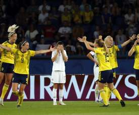 Les Suédoises refont le coup de 2003. AFP