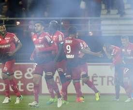 Wesley Saïd se convierte en refuerzo del Dijon. AFP