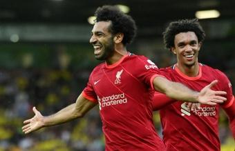 O Liverpool quer transformar Salah no jogador mais bem pago da história do clube. AFP