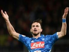 Fabian Ruiz buteur lors de la victoire face à Gênes. AFP
