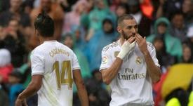 Benzema no pide más. AFP