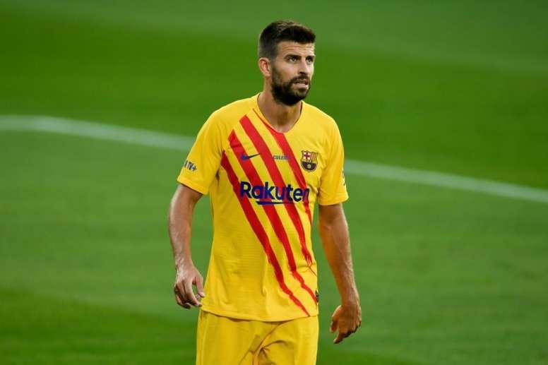 El jugador del Barça se bajará el sueldo. AFP