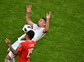 Mou no piensa perderse el Serbia-Montenegro. AFP