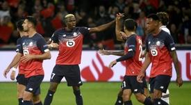 Les compos probables du match de Ligue 1 entre Lille et Nîmes. AFP