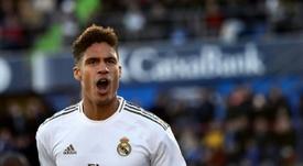 Apresentação de Raphaël Varane no Real Madrid completa nove anos. AFP