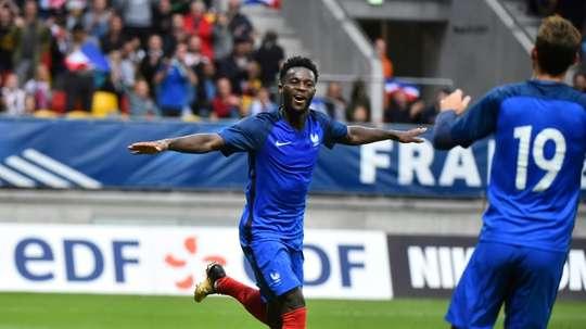Bamba rêve de l'Inter. AFP