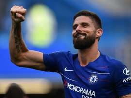 Chelsea's Giroud could be a free agent next summer. AFP