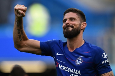 Giroud says Chelsea must improve. AFP