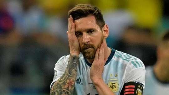 Le tennisman défend Messi. AFP