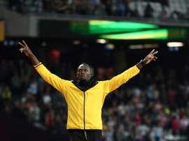 Portuguese side Beira-Mar have offered Bolt a professional career. AFP