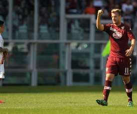 El Torino, pendiente de Maxi López y de Daniele Padelli. AFP