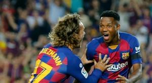 O Barça negocia um amistoso em Guiné Equatorial. AFP