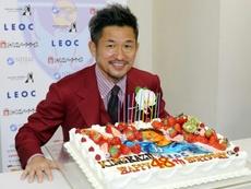 le Japonais Miura devient le plus vieux footballeur titulaire en J-League. AFP