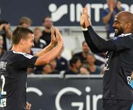 Bordeaux s'impose en dix minutes face à Metz. AFP
