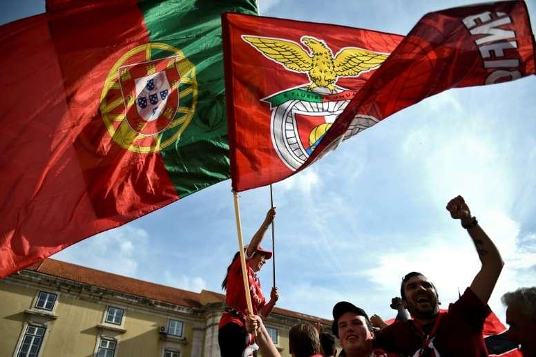 El Benfica, en el punto de mira. AFP