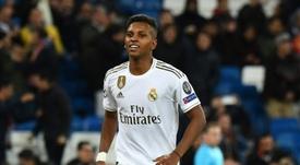 C1: Thiago Silva espère que Rodrygo ne jouera pas contre le PSG. AFP