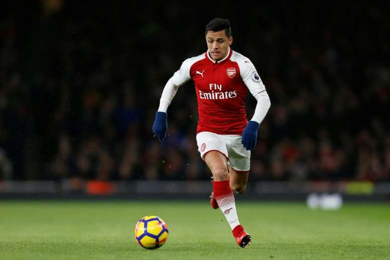 Sanchez has agreed terms with City. AFP