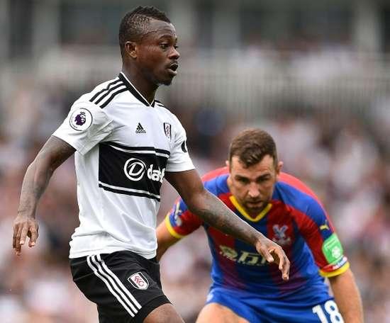 Jean-Paul Seri has impressed at Fulham. AFP