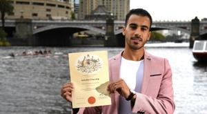 Hakeem al-Araibi obtient la nationalité australienne. AFP