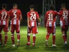 Six joueurs de l'Etoile rouge de Belgrade testés positifs. AFP