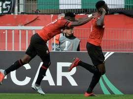Rennes se rend à Astana. AFP