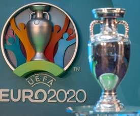 Suivez en direct le tirage au sort de l'Euro 2020. AFP