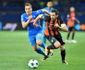 Darijo Srna pourrait rejoindre la Serie A. AFP