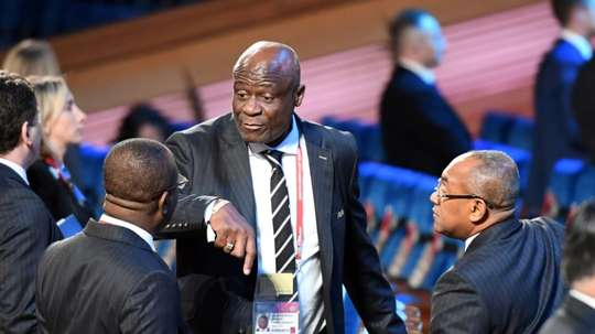 Constant Omari, vice président de la CAF. AFP