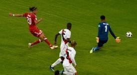 El portero peruano habló tras la eliminación de Perú. AFP