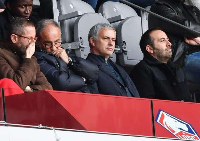 Mourinho au PSG ? AFP