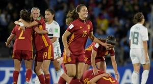 El fútbol femenino en España pasa por su mejor momento. AFP
