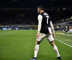 Os cinco jogadores que, em 2016, Cristiano disse que triunfariam. AFP