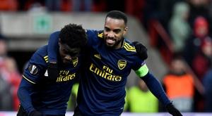 Ligue Europa: Arsenal enfin qualifié pour les 16e, la Lazio n'en sera pas. AFP