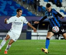 Les compos probables du match de Ligue des champions entre l'Inter et le Real Madrid. afp