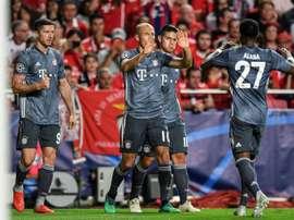 Le Bayern commence idealement sa campagne de C1. AFP