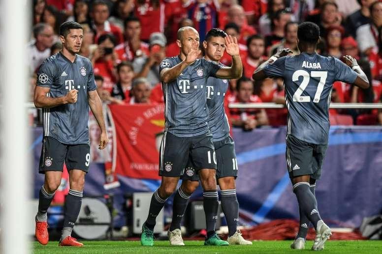 Le Bayern Munich vainqueur autoritaire au Benfica Lisbonne