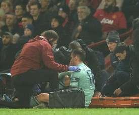 Le défenseur d'Arsenal, Rob Holding. AFP