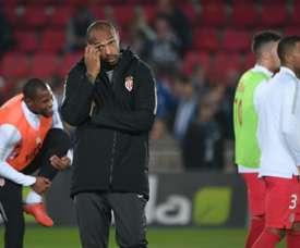 El Mónaco sigue sin ganar. AFP
