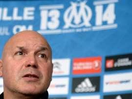L'ancien entraîneur et manager de l'OM José Anigo échappe à la détention provisoire. AFP